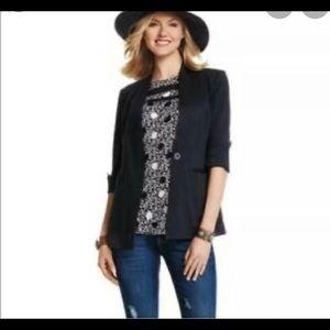 Cabi pointe knit blazer